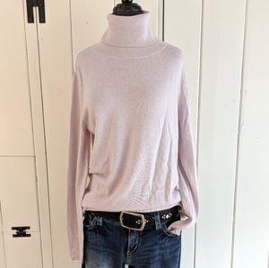 NWT Cotton/Cashmere turtleneck sweater NWT